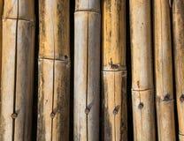 De textuurachtergrond van het bamboe Stock Fotografie