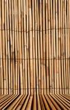 De textuurachtergrond van het bamboe met Royalty-vrije Stock Afbeelding