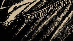 De textuurachtergrond van het denim Donkere jeansstof met steek textielbehang Vector illustratie Stock Fotografie