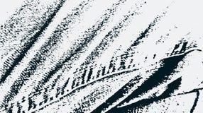 De textuurachtergrond van het denim Jeansstof met steek textielbehang Vectorillu Stock Afbeelding