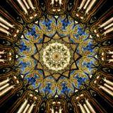 De textuurachtergrond van het Grunge oosterse ornament Stock Fotografie