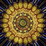 De textuurachtergrond van het Grunge oosterse ornament Stock Afbeelding