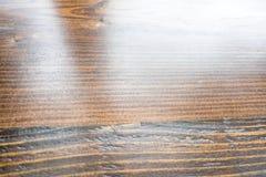 De textuurachtergrond van het perspectief dard bruine hardhout Stock Afbeeldingen