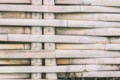 De textuurachtergrond van het weefselbamboe Stock Fotografie