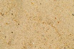 De textuurachtergrond van het zand Royalty-vrije Stock Afbeelding