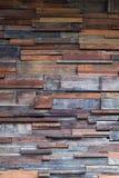 De textuurachtergrond van de hout houten muur, donkere houten muur Stock Afbeelding