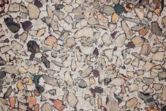 De textuurachtergrond van de terrazzovloer Royalty-vrije Stock Foto