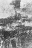 De textuurachtergrond van de witmetaalmuur met krassen en barsten royalty-vrije stock fotografie