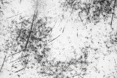 De textuurachtergrond van de witmetaalmuur met krassen en barsten royalty-vrije stock afbeelding