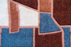 De Textuurclose-up van een abstracte witte stof, grijs, bruin stock afbeelding