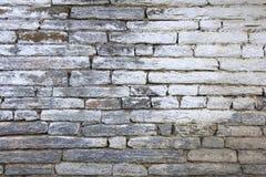De textuurmuur en achtergrond van Grunge grijze bakstenen Royalty-vrije Stock Afbeeldingen