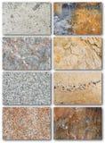 De textuuroppervlakte van de rots Stock Afbeeldingen