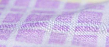 De Textuurpatronen van de doekstof royalty-vrije stock foto's
