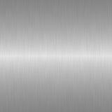 De textuurstaal van het metaal Royalty-vrije Stock Afbeeldingen