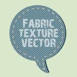 De textuurvector van de stof Royalty-vrije Stock Foto