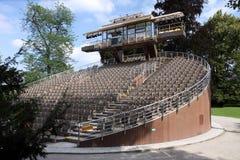 De théâtre l'UNESCO dedans à l'extérieur - Image stock