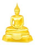 De Thaise Beelden van Boedha voor de Dagen van de Week Stock Afbeelding