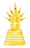De Thaise Beelden van Boedha voor de Dagen van de Week royalty-vrije stock foto