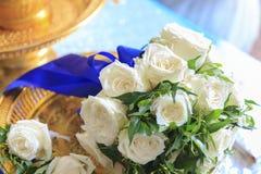 De Thaise Ceremonie van het Huwelijk Stock Afbeelding