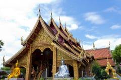 De Thaise Godsdienstige Bouw Royalty-vrije Stock Foto's