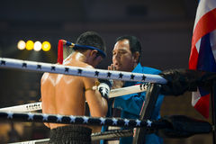 De Thaise kampioen Petchmonkong Petchfocus van Muay royalty-vrije stock fotografie