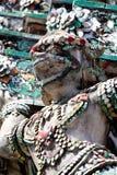 De Thaise literatuur van de aap. Royalty-vrije Stock Fotografie