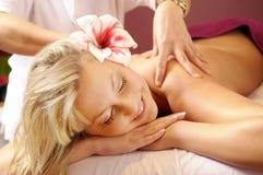 De Thaise massage Stock Fotografie
