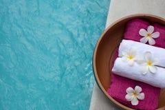 De Thaise massage van het voetkuuroord stock afbeeldingen
