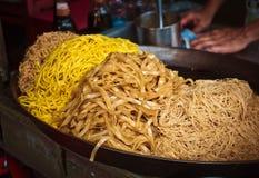 De Thaise noedels van het straatvoedsel Royalty-vrije Stock Afbeelding
