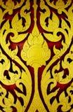 De Thaise oude stijl van het kunstpatroon Royalty-vrije Stock Foto