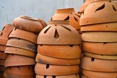 De Thaise Pot van de Tuin van de Stijl Stock Foto