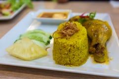 De Thaise Rijst van de Stijlkerrie stock foto's