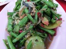 De Thaise salade van de Papaja Stock Foto