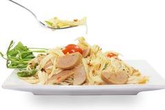 De Thaise salade van de voedselpapaja Royalty-vrije Stock Fotografie