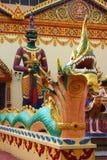 De Thaise Standbeelden van de Tempel Royalty-vrije Stock Afbeeldingen