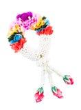 De Thaise stijl van bloemslingers Stock Foto