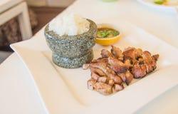 De Thaise stijl van het straatvoedsel Royalty-vrije Stock Fotografie