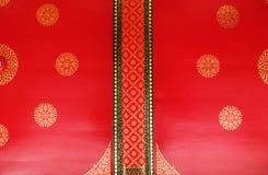 De Thaise stijl van het tempelplafond Stock Afbeelding