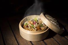 De Thaise stijl van kippenvleugels stock fotografie