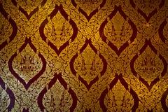 De Thaise tempel van het patroon Royalty-vrije Stock Afbeeldingen