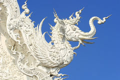 De Thaise textuur van de draak Stock Fotografie