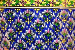 De Thaise textuur van het benjarongporselein Royalty-vrije Stock Afbeelding