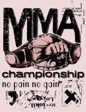 De Thaise vechter van Muay stock illustratie