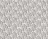 De Thaise zilveren lotusbloem bloeit uitstekende patroon vectorsamenvatting backgr Royalty-vrije Stock Foto