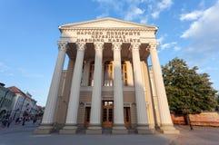 De theaterbouw in Subotica, Servië royalty-vrije stock foto's