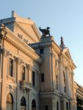 De theaterbouw in Turnu Severin Stock Afbeelding