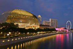 De theaters van de promenade op de baai Stock Afbeeldingen