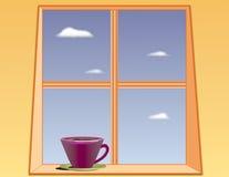 De Thee of de Koffie van de middag Stock Afbeeldingen