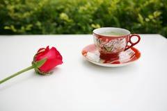 De thee en nam toe royalty-vrije stock afbeeldingen