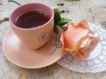 De thee en nam toe royalty-vrije stock afbeelding